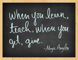 Image result for quotes about sharing knowledge