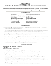 maintenance supervisor resume sample