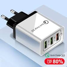 <b>OLAF</b> 18W Quick Charge 3.0 EU US 5V 3A Fast Charging Mobile ...