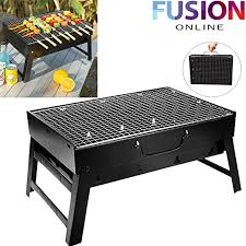 Fusion Online <b>LARGE FOLDABLE</b> STEEL <b>BBQ BARBECUE</b> STAND ...