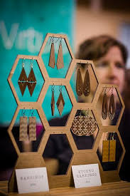 2013 Chicago Winter | <b>Jewellery display</b>, Earring display, Craft fairs