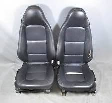 1996 2002 bmw z3 roadster front seat pair left right black oregon leather heat bmw z3 1996 2002