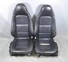 1996 2002 bmw z3 roadster front seat pair left right black oregon leather heat bmw z3 seat rail bushing