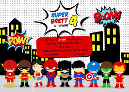 superhero birthday party invitation templates home party ideas superhero birthday party invitation templates