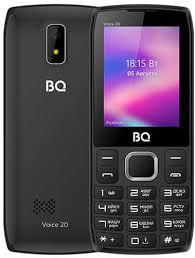 Мобильный <b>телефон BQ BQ</b>-<b>2400L</b> Voice 20 (черно-серый)