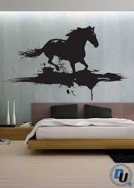 <b>Modern Horse</b> - <b>Removable</b> Vinyl Wall Decal Art Decor Sticker Mural ...