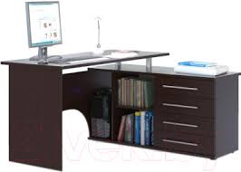<b>Сокол</b>-Мебель <b>КСТ</b>-<b>109</b> (правый, венге) <b>Компьютерный стол</b> ...