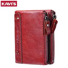 KAVIS Genuine Leather <b>2018</b> Fashion Small Wallet <b>Female</b> Coin ...