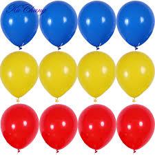 <b>12pcs</b> 10 inch Thickening <b>Latex</b> Balloon Matte Balloon Red Blue ...