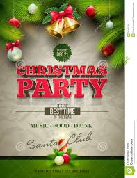 christmas party poster stock image image 35066791 christmas party poster