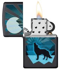 <b>Зажигалка Wolf and</b> Moon Design <b>ZIPPO</b> 29864