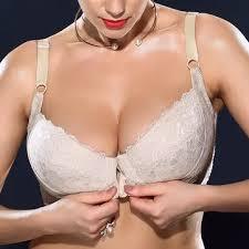 <b>front closure</b> bra