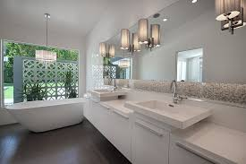mid century modern bathroom bathroom midcentury home renovations with wall sconces floating vanity bathroom lights mid century