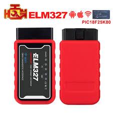 <b>ELM327</b> WiFi <b>Bluetooth OBD2 Car</b> Diagnostic Scanner Code ...