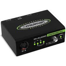 M-Audio MidiSport 2x2 USB, купить <b>внешнюю студийную звуковую</b> ...