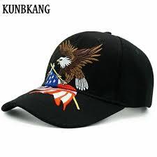 Новые прибытия мужская <b>бейсболка</b> Орел вышивка США флаг ...