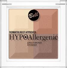 Bell Hypoallergenic <b>Пудра с бронзирующим и</b> осветляющим ...