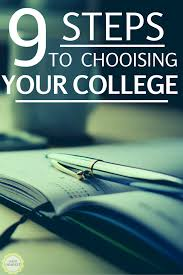 steps to choosing the right college dani dearest