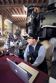 live from the train museum above jamie ryan durango silverton narrow gauge railroad marketing and special events coordinator and chief conductor rich millard watch a time delay