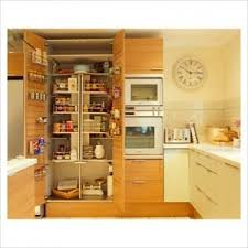 built kitchen storage