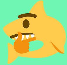 """<b>Thinking Shark</b> Emoji"" by stertube   Redbubble"