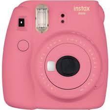 <b>FujiFilm Instax Mini</b> 9 Camera, Flamingo <b>Pink</b> 16550631 - Adorama