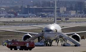 اسبانيا - اجلاء ركاب طائرة في مطار باراخاس متجهة الى الرياض بعد تهديدات