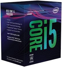 <b>Intel Core i5</b>-<b>8400</b> 6 core (Hexa Core) <b>CPU</b> with 2.80 GHz, Да ...