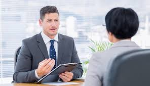 recruiter checking the candidate during job interview fusion job interview