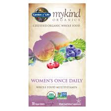 mykind Organics Women's <b>Once Daily Multi</b> | Garden of Life