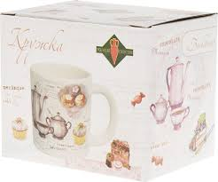 "<b>Кружка Polystar Collection</b> ""Бисквит"", L3170208, белый, розовый ..."