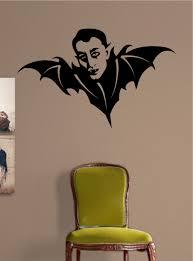 shop bedroom decor  halloween vinyl wall decal vampire bat mural art wall sticker graphic