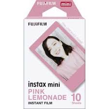 <b>Fujifilm Instax Mini Pink</b> Lemonade Instant Film | Officeworks