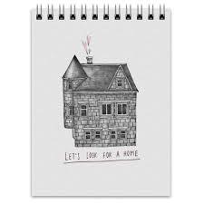 <b>Блокнот</b> Let&#39;s <b>look</b> for a home #2688055 от Alice Shipoglaz