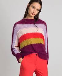<b>Мохеровая</b> трикотажная кофта в разноцветную полоску ...
