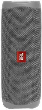 купить портативную <b>колонку JBL Flip 5</b> Grey (JBLFLIP5GRY)