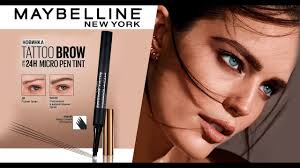 <b>Лайнер для бровей</b> Brow Tattoo Micro Pen от <b>Maybelline</b> NY ...
