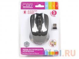 <b>Мышь</b> беспроводная <b>CBR CM</b>-<b>404</b> Black <b>USB</b>(Radio) — купить по ...