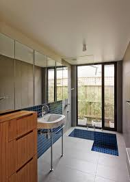 dwell bathroom ideas  bold bathroom design statements dwell m house melbourne bathroom shelves bathroom ideas