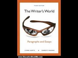 Education Book Review  The Writer     s World  Paragraphs and Essays     YouTube