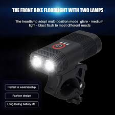 2800mAH 800 Lumens <b>Bicycle</b> Front <b>Light Y12</b> | Shopee Singapore