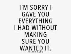 Unrequited Love Quotes on Pinterest   Unrequited Love, Being ... via Relatably.com