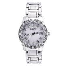 Наручные <b>часы BULOVA 96W105</b> DIAMOND SAPPHIRE