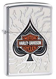 <b>Зажигалка ZIPPO Harley</b>-<b>Davidson</b>®, латунь с <b>покрытием</b> High ...