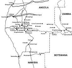 Resultado de imagem para fronteira sul angola