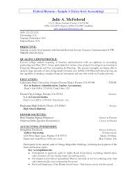 Resume Summary Statement Examples Entry Level