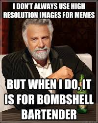 I don't always use high resolution images for memes But when I do ... via Relatably.com