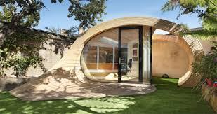 organic shaped backyard office doubles as a storage shed backyard shed office