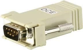 Переходник <b>ATEN</b> DB9<=>RJ45, Male-Female, 8 провод., схема ...