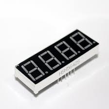 <b>4 Digit 7 Segment</b> Cathode Red LED Display <b>0.56</b> SM420564 For ...